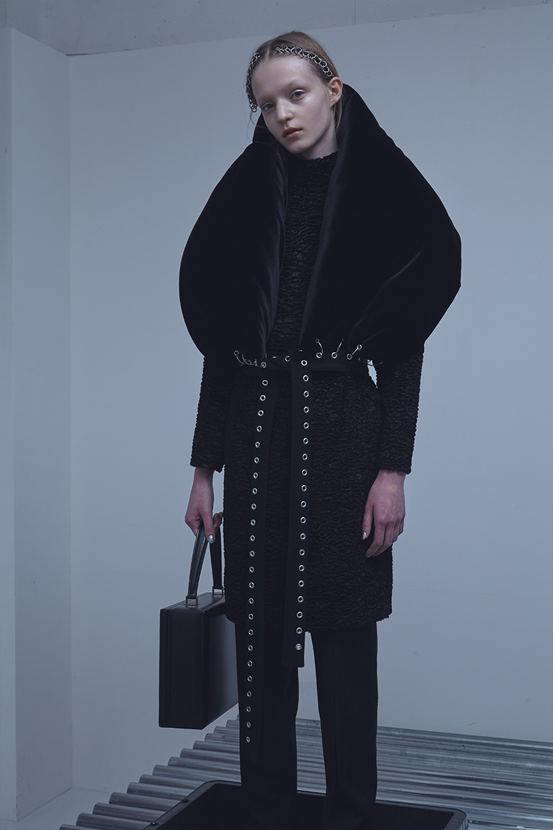 Donnah Mabel autumn winter 2017-18 look