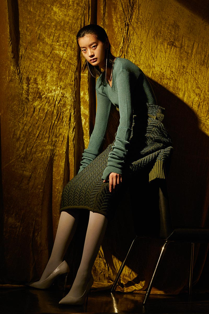 Donnah Mabel autumn winter 2019-2020 look