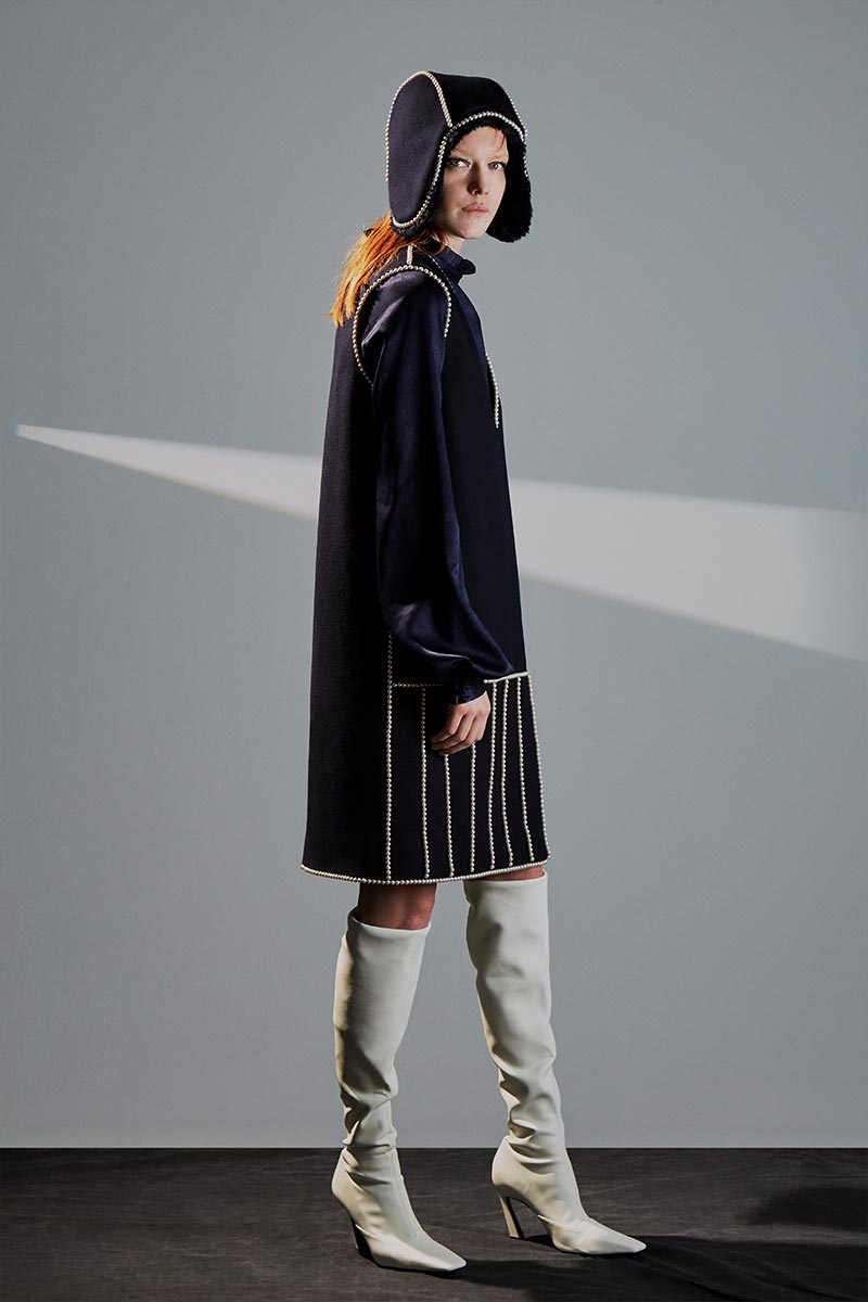 Donnah Mabel autumn winter 2021-2022 look